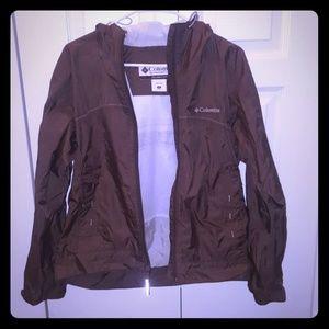 columbia rain jacket/coat